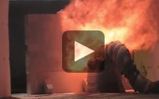ISO 22899-1 Jet Fire Test (following Gas Explosion Test)